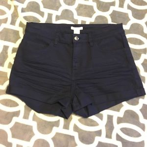 High waisted H&M shorts